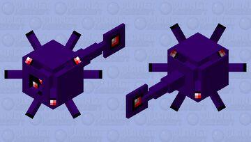 Gem Urchin Minecraft Mob Skin