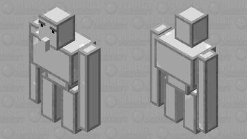 Iron Blocklem Minecraft Mob Skin