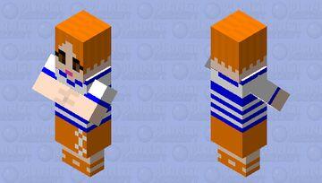 One Piece - Nami Minecraft Mob Skin