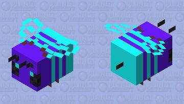 ice beee Minecraft Mob Skin
