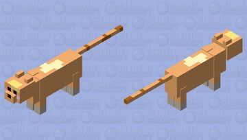 pancake cat Minecraft Mob Skin