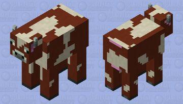 Cow (Beta 1.7 Pack) Minecraft Mob Skin