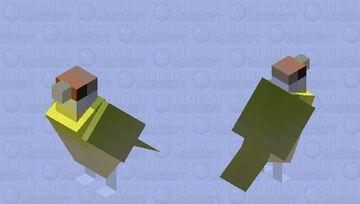 Pitiguari (Cyclarhis gujanensis) Minecraft Mob Skin