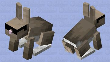 Pro Rabbit Minecraft Mob Skin