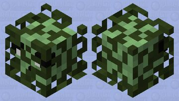 Slime in a bush Minecraft Mob Skin