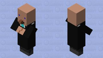 Uh oh the american STONK markets have crashed! Minecraft Mob Skin