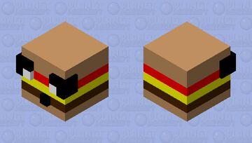 five nights at candy burger Minecraft Mob Skin