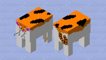 Luna the cat Minecraft Mob Skin