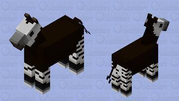 Okapi Minecraft Mob Skin