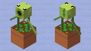 Peashooter Minecraft Mob Skin