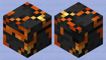 Dark Magma Cube Minecraft Mob Skin