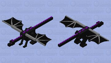 The more End-like Ender Dragon Minecraft Mob Skin