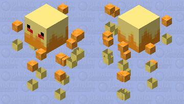 A blaze skin Minecraft Mob Skin