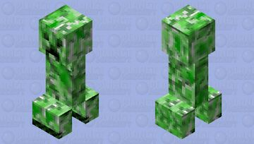 CREEEPER Minecraft Mob Skin