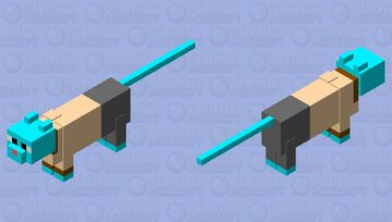 Gumball Minecraft Mob Skin