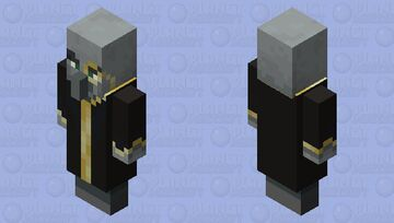 smart evoker with a cool monocle because people with monocles are smart and you can't change my mind Minecraft Mob Skin