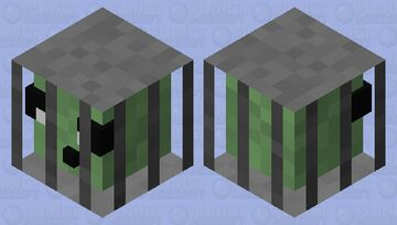 Slime in cage Minecraft Mob Skin