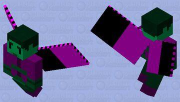 Beast Boy [PMCRP:Vex Skin] (charging skin included) Minecraft Mob Skin
