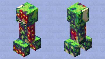 Carcasnip - The Blightweed Swelling Creeper of Terror Minecraft Mob Skin