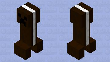Oreo creeper Minecraft Mob Skin