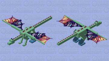 Rain dragon Minecraft Mob Skin