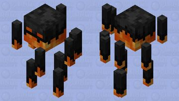 Dark Blaze Minecraft Mob Skin