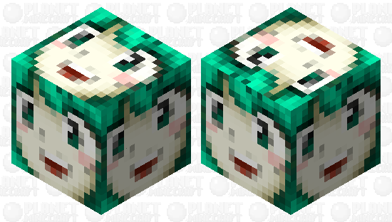 HinaFace Minecraft Skin