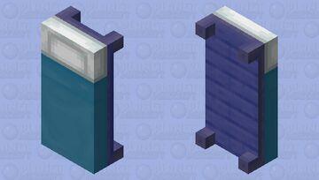 MAH BED (No Glass) Minecraft Mob Skin