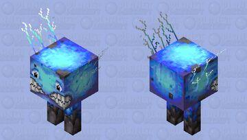 Very frozen strider! Minecraft Mob Skin