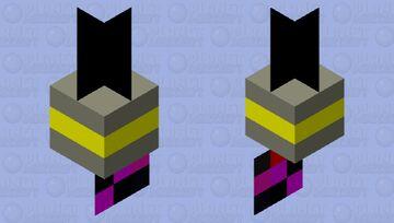 Baited bobber hook Minecraft Mob Skin