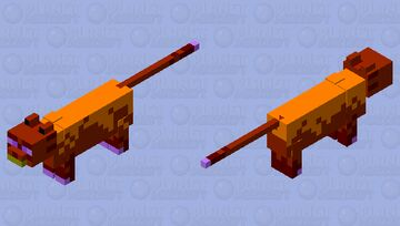 Fire titan (from prodigy math game) Minecraft Mob Skin
