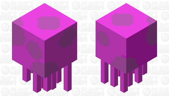 JellyFish Minecraft Skin