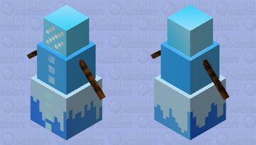IceMan or IceGolem Minecraft Mob Skin