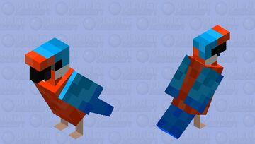 Kingfisher Minecraft Mob Skin