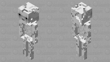 Better Skeleton Minecraft Mob Skin