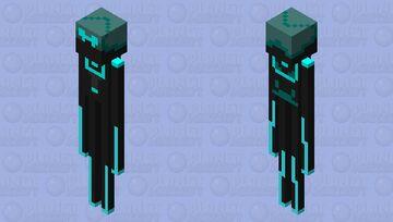 Tech Enhanced Enderman Minecraft Mob Skin
