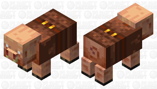 The missing link in Piglin evolution, with clothes Minecraft Skin