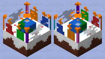 PMC Birthday Cake Minecraft Mob Skin