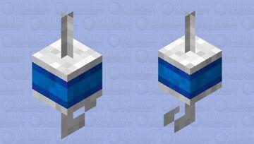Bobber WHITE EDITION Minecraft Mob Skin
