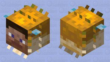 Cursed Pufferfish Large Minecraft Mob Skin