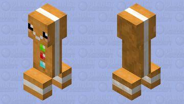 Gingerbread Creeper (Winterfest) Minecraft Mob Skin