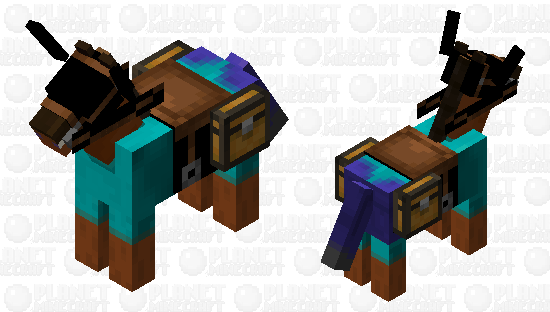 Steve horse Minecraft Skin