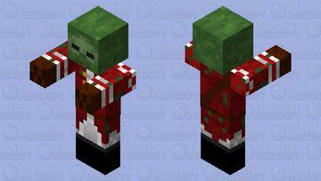 Redcoat Zombie Minecraft Mob Skin