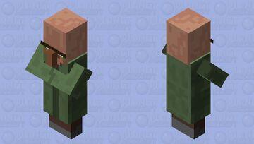 disturbed villager Minecraft Mob Skin