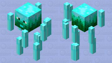 Fantasy Wisp Minecraft Mob Skin