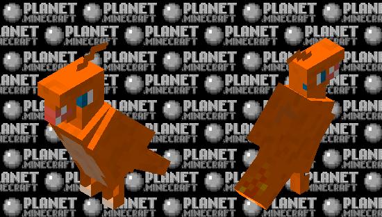 charizard parrot Minecraft Skin