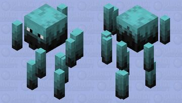 Soulfire Blaze (Nether Update) Minecraft Mob Skin