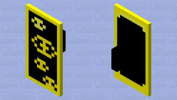 Shield from the mysterious Cult Minecraft Mob Skin