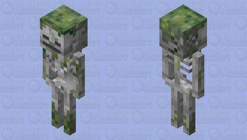 Mossy skeleton Minecraft Mob Skin