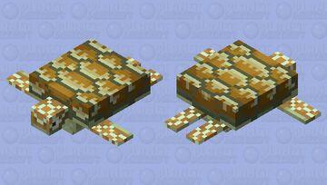 Hawksbill Sea Turtle Minecraft Mob Skin
